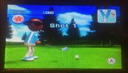 Gwen in Golf