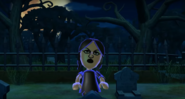 Eva as a Zombie in Zombie Tag in Wii Party