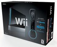 Limited edition Black Nitendo Wii released in 2011