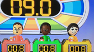 Shinta, Sandra and Rin partcipating in Stop Watchers in Wii Party