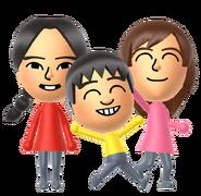 Xiaotong, Ji-hoon and Rie