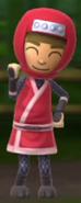 A happy Ninja Millie. - Les Productions du Tresor
