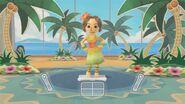 Wii Fit U Hula Dance