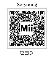 HEYimHeroic 3DS QR-002 Se-young