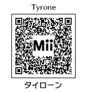 HEYimHeroic 3DS QR-029 Tyrone