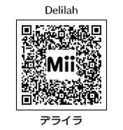 HEYimHeroic 3DS QR-051 Delilah