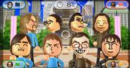 Ryan, Shohei, Shouta, Tomoko, Hiromi, Anna, Hiromasa, and Susana featured in Smile Snap in Wii Party