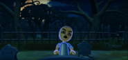 Takashi as a Zombie in Zombie Tag in Wii Party