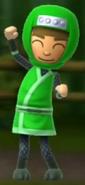 A happy Ninja Millie.