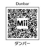 HEYimHeroic 3DS QR-062 Dunbar
