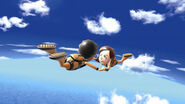 Wii Sports Skydiving