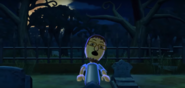 Daisuke as a Zombie in Zombie Tag in Wii Party
