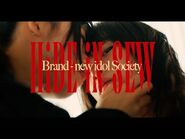 HiDE iN SEW - BiS 新生アイドル研究会 -OFFiCiAL ViDEO-