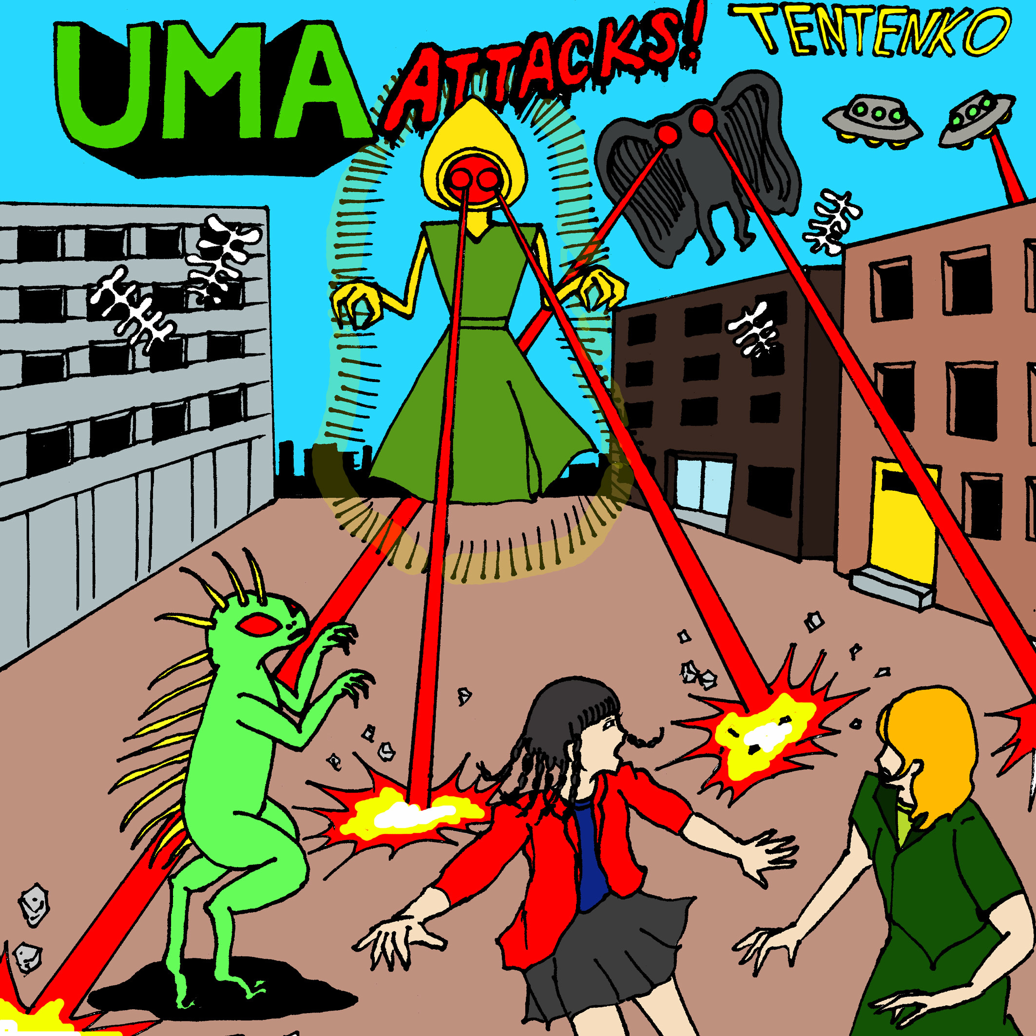UMA ATTACKS!