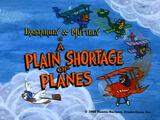 A Plain Shortage of Planes