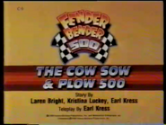 The Cow Sow and Plow 500 Title Card