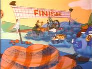 The Highland Fling 500 Finish