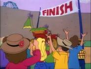 The Funhouse 500 Finish