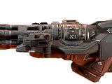 Ametralladora Gatling (Doom4)