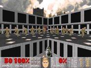 Doom II - MAP16 - Deslizamiento barras rojas