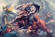 Warhammer Ogre Stonehorn
