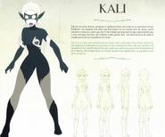 Kali charekter sheet