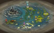 Wakfu new world map