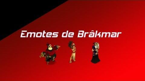Toutes les Emotes de Brâkmar Wakfu MMORPG