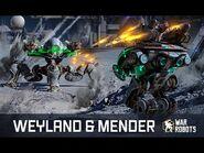 HEALING War Robots 🔥 WEYLAND & MENDER in WR update 4