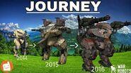WAR ROBOTS - JOURNEY 2014-2017