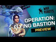 Flying Bastion - War Robots OPERATION 7