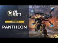 War Robots Pantheon — Ares Hades Nemesis (Trailer) - New Robots