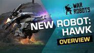War Robots HAWK, Titan Slayer 🦅 NEW ROBOT Overview