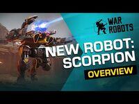 🦂 War Robots- SCORPION - NEW ROBOT Overview