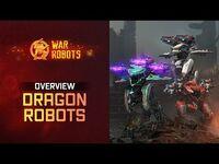 War Robots Overview- New Flying Robots Ao Jun Ao Guang Ao Qin - WR Dragons