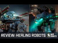 War Robots MENDER & WEYLAND 🔥 tech OVERVIEW new healing robots in WR
