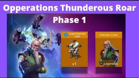 Operation: Thunderous Roar (Part 1)