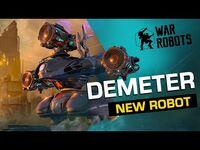 War Robots- Demeter, The Guardian 🛡 - NEW ROBOT Overview