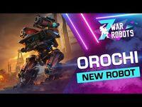 War Robots- Orochi, The Drifter 🐍 - NEW ROBOT Overview