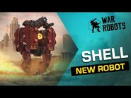 War Robots- SHELL, The Ironclad Demolisher 🐢 - NEW ROBOT Overview (Evolife Bloom)