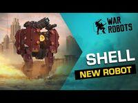 War Robots- SHELL, The Ironclad Demolisher 🐢 - NEW ROBOT Overview (Evolife Bloom)