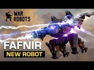 Fafnir, The Runic Dragon 🐲 - New Robot Overview - War Robots
