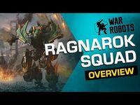 War Robots Overview- Ragnarok Squad -Tyr, Fenrir Loki- (new robots)