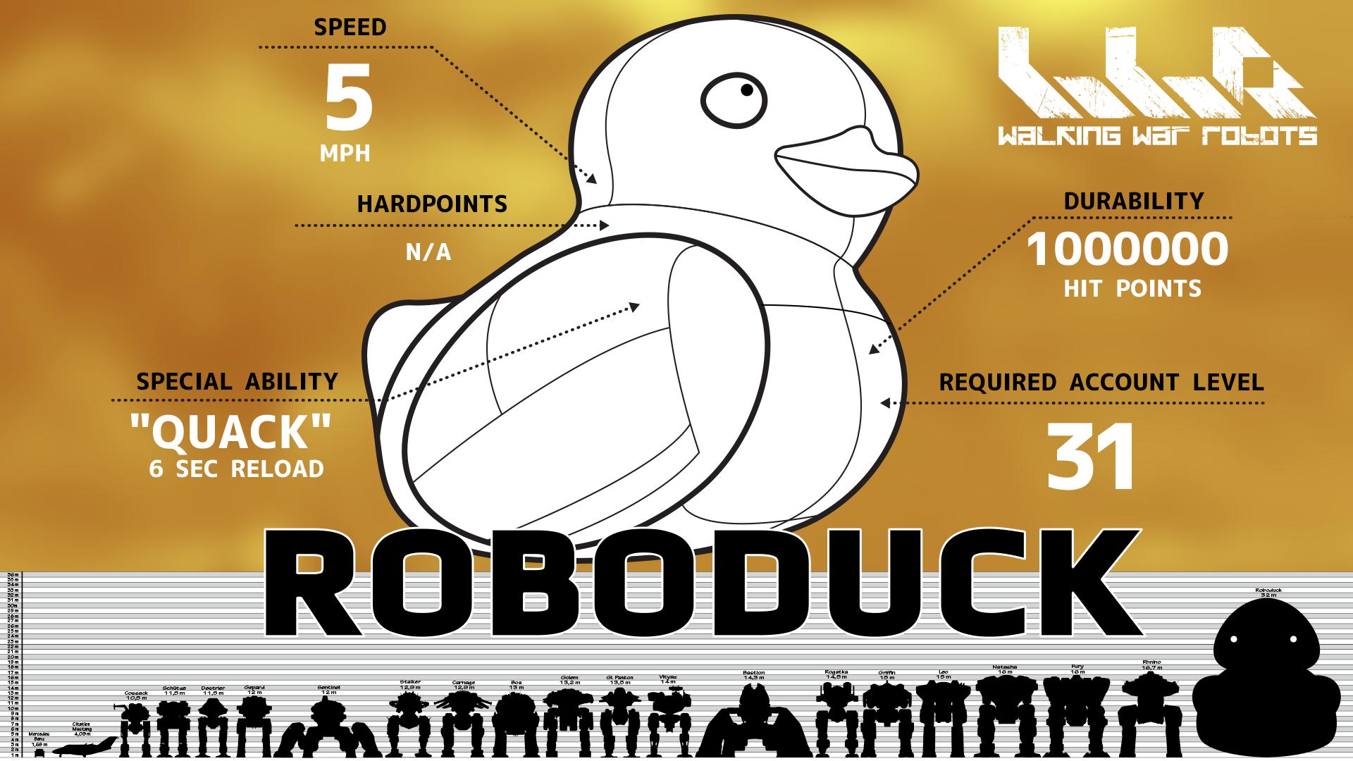 Robo Duck