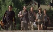 Glenn,Eugene,Abe,Rosita,Tara (Claimed)