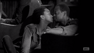 TDWCWYWB Sasha kissing Bob