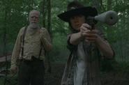 Carl and Hershel gffd