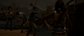 GNS Cam about to get sliced by Michonne