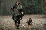 10x18 Daryl and Dog