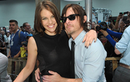 Cohan and Reedus SDCC 13